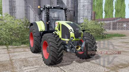 CLAAS Axion 940 interactive control para Farming Simulator 2017