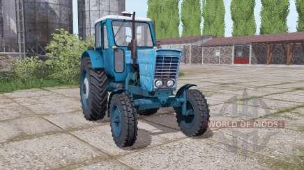 MTZ 50 Belarús es templado-azul para Farming Simulator 2017
