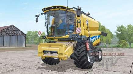 New Holland TC4.90 with header para Farming Simulator 2017
