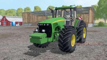 John Deere 8520 wheels weights para Farming Simulator 2015