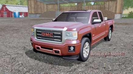 GMC Sierra Double Cab 2014 para Farming Simulator 2015