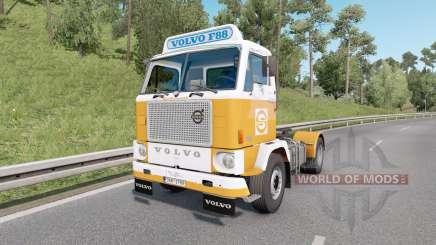 Volvo F88 4x2 tractor 1965 v1.4 para Euro Truck Simulator 2