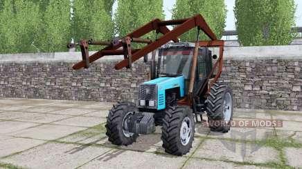 MTZ-1221 Belarús tagamet para Farming Simulator 2017