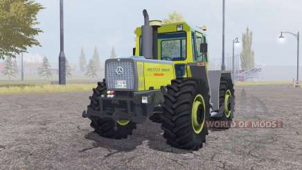 Mercedes-Benz Trac 1800 moderate yellow para Farming Simulator 2013