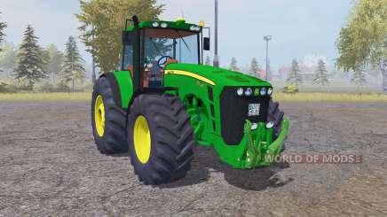 John Deere 8530 dark lime green para Farming Simulator 2013