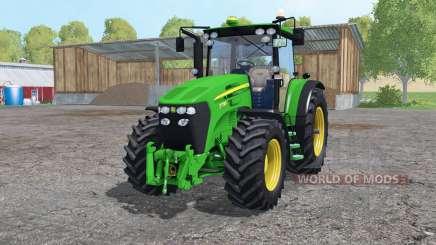 John Deere 7730 twin wheels para Farming Simulator 2015