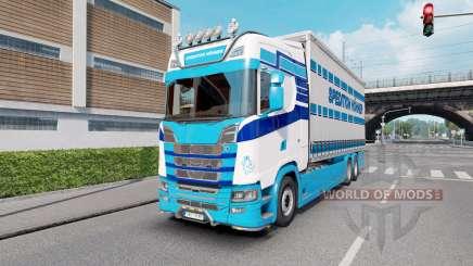 Scania S Tandem Spedition Hohner para Euro Truck Simulator 2