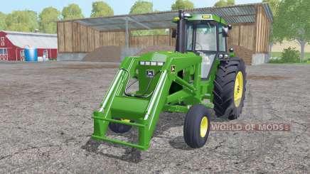 John Deere 4455 front loader para Farming Simulator 2015