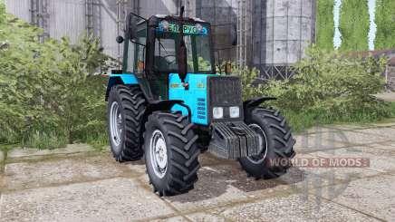 Belarús MTZ 892.2 animación de piezas para Farming Simulator 2017