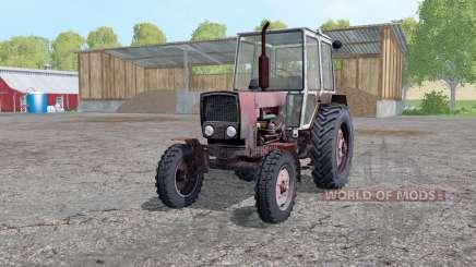 YUMZ 6КЛ con la animación de piezas para Farming Simulator 2015