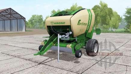 Krone Fortima V 1500 green para Farming Simulator 2017