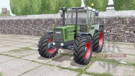 Fendt Favorit 612 LSA Turbomatik E configure para Farming Simulator 2017
