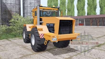 Kirovets K-701 es un suave color naranja para Farming Simulator 2017