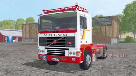 Volvo F12 with semitrailers para Farming Simulator 2015