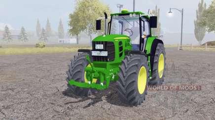John Deere 7530 Premium front loader para Farming Simulator 2013
