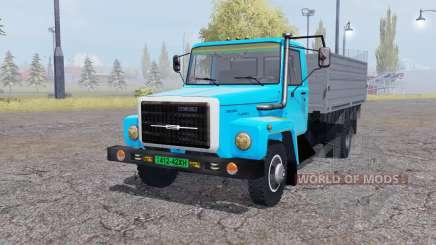 GAZ 3309 animación de piezas de v2.0 para Farming Simulator 2013