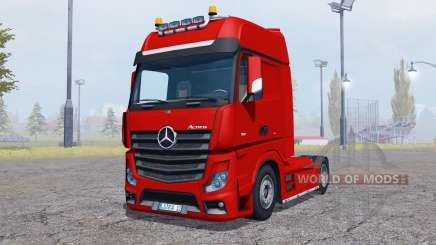 Mercedes-Benz Actros (MP4) v2.0 para Farming Simulator 2013