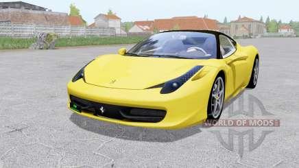 Ferrari 458 Italia 2009 para Farming Simulator 2017
