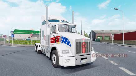 Kenworth T800 AeroCab v1.7 para Euro Truck Simulator 2