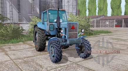 MTZ 82 Belarús animación de piezas para Farming Simulator 2017