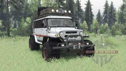 UAZ Oso para Spin Tires