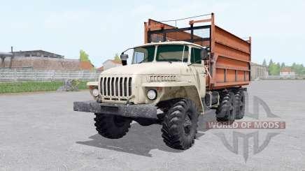 Ural 5557 remolque para Farming Simulator 2017