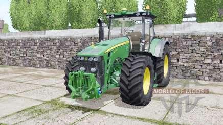 John Deere 8245R 2009 twin wheels para Farming Simulator 2017