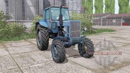 MTZ 82 Belarús azul marino para Farming Simulator 2017