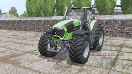 Deutz-Fahr Agrotron 9340 TTV Power Engine para Farming Simulator 2017