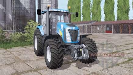 New Holland TG230 twin wheels para Farming Simulator 2017