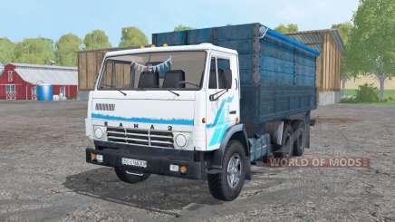 KamAZ 53212 blanco para Farming Simulator 2015