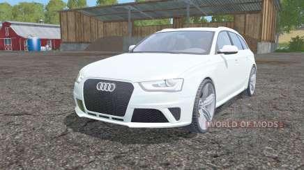 Audi RS 4 Avant (B8) 2012 para Farming Simulator 2015