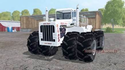 Big Bud 747 twin wheels para Farming Simulator 2015