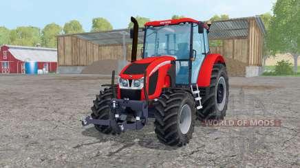 Zetor Forterra 140 HSX loader mounting para Farming Simulator 2015