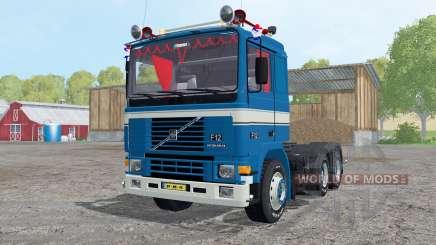 Volvo F12 Intercooler tractor 1987 para Farming Simulator 2015
