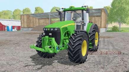 John Deere 8520 interactive control para Farming Simulator 2015