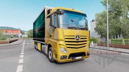 Mercedes-Benz Actros (MP4) Tandem para Euro Truck Simulator 2