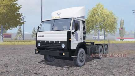 KamAZ 54112 1981 animados puertas para Farming Simulator 2013