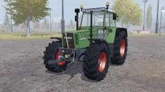 Fendt Favorit 615 LSA Turbomatic double wheels para Farming Simulator 2013