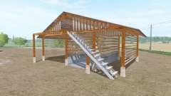 Wooden shed para Farming Simulator 2017