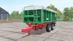 Kroger TKD 302 dark lime green para Farming Simulator 2017