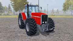 Massey Ferguson 8140 double wheels para Farming Simulator 2013