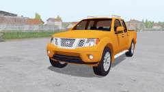 Nissan Frontier Pro-4X Crew Cab (D40) 4x4 2012 para Farming Simulator 2017
