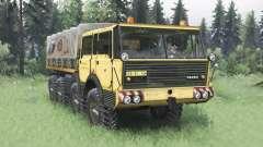 Tatra T813 TP 8x8 1967 v1.6 para Spin Tires