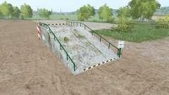 Large loading ramp para Farming Simulator 2017