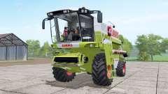 Claas Dominator 208 Mega interactive control para Farming Simulator 2017
