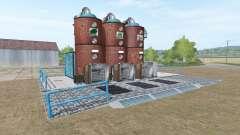 Fábrica de piensos de la estación de para Farming Simulator 2017