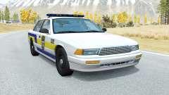 Gavril Grand Marshall Puerto Rico Police para BeamNG Drive