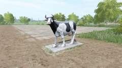 Una escultura de una vaca para Farming Simulator 2017