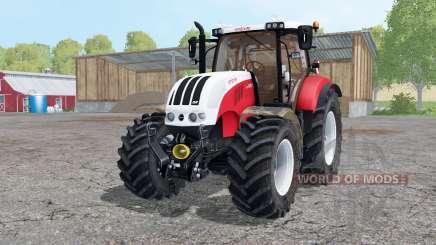 Steyr 6230 CVT starkes rot para Farming Simulator 2015